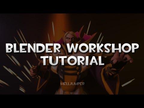 HellJumper's Blender Tutorial for the Dota 2 Workshop