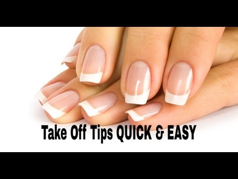 EASY & QUICK Way To Take Off Acrylic Nails!