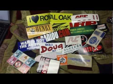 How to get Free Stickers