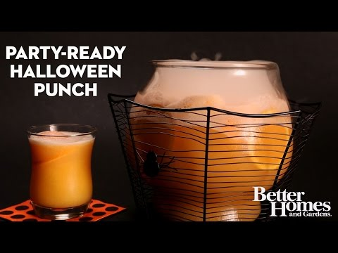 Party-Ready Halloween Punch
