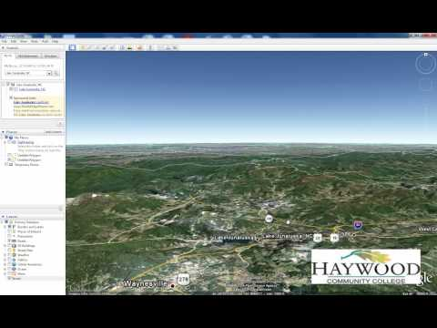 Using Terrain in Google Earth in 2 minutes or less...