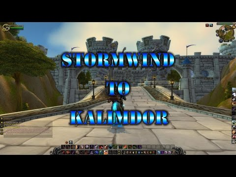 How To Get To Kalimdor From Stormwind Nice And Easy (2016)