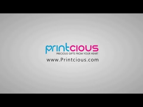 How to create your customised gifts with Printcious.com?