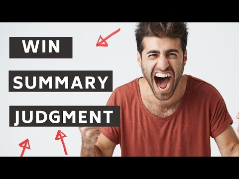 How to Defeat a Motion for Summary Judgment in Your Debt Collection Lawsuit