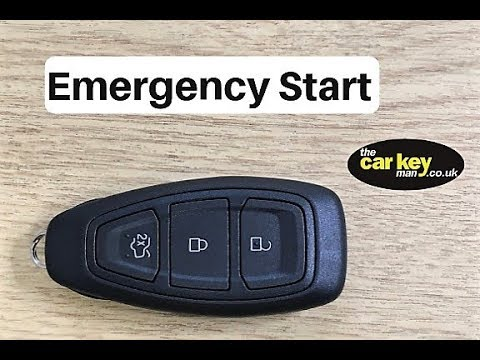 Ford C-Max Key problem HOW TO start car