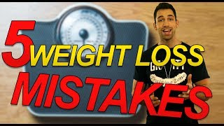 5 Dumbest Weight Loss Mistakes Making You FATTER! - (common diet and workout mistakes to avoid)