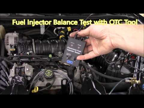 Fuel Injector Balance Test