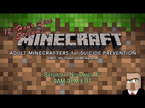 Minecraft 12-Hour Charity Live Stream Marathon