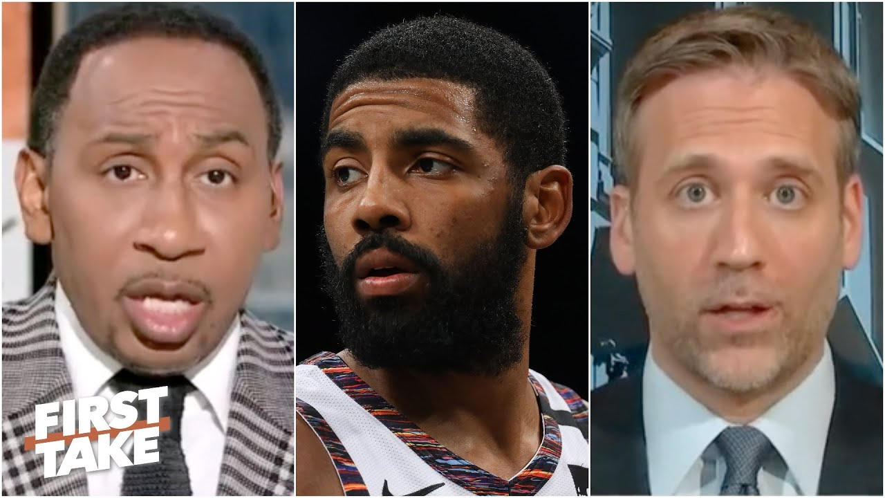 Stephen A. and Max react to Kyrie Irving saying he is focused on issues other than basketball