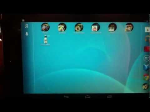 How To Rotate Screen Google Nexus7