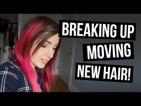 VLOG: Breaking Up, Moving, New Hair Color || KELLI MARISSA