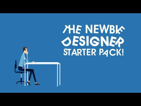 The Newbie Designer Starter Pack