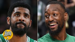 Kemba reacts a lot differently to teammates' misses than Kyrie did - Jackie MacMullan | The Jump