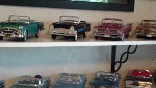 Diecast Car Collection-Convertibles Mostly 1950