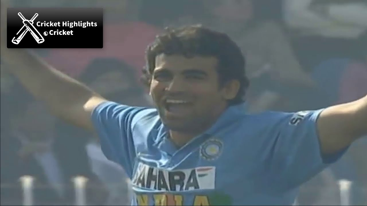 India vs Pakistan 2nd ODI 2006 Hutch Cup Cricket Highlights