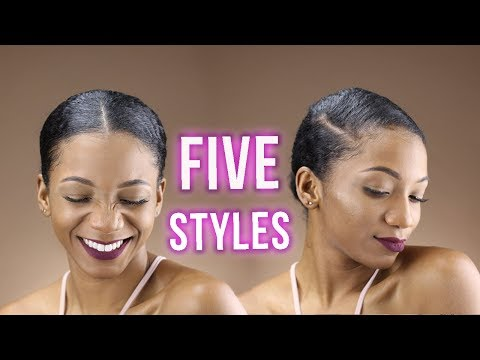 5 WAYS YOU CAN PART YOUR NATURAL HAIR for Hairstyles | ANNESHA ADAMS