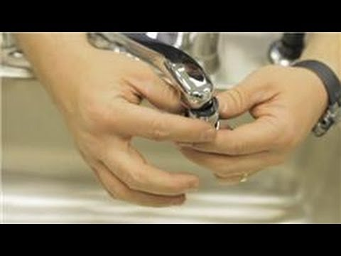 Bathroom Repair : How to Repair a Sink Aerator