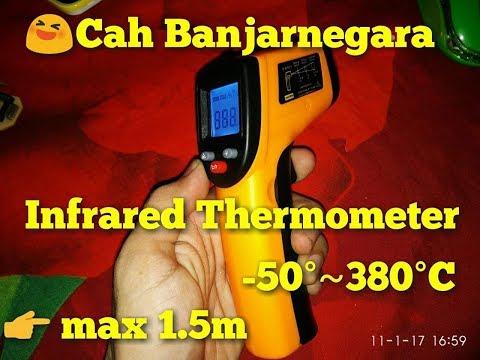 Digital infrared thermometer / thermometer gun alat pengukur suhu