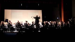 Muestra del Gran Concierto que dio la Banda Musical en el concurso.10.11.12