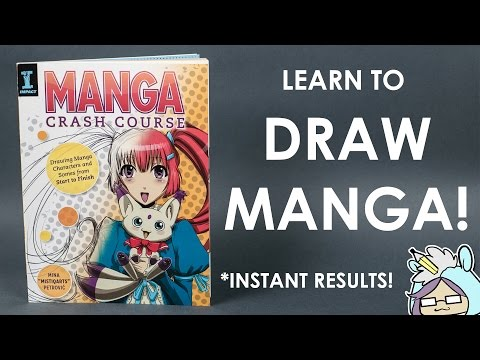 How to Draw Manga Book : MANGA Crash Course