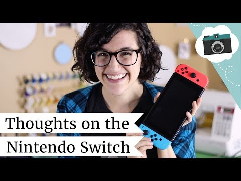 I got a Nintendo Switch! First Thoughts + Favorite Games   @laurenfairwx