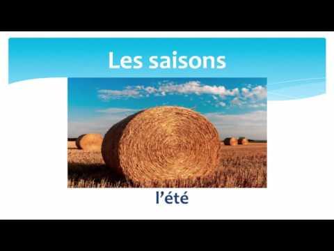 The seasons in French - Les saisons en Français