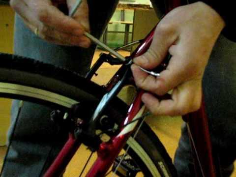 3.Настройка тормозов V-Brake