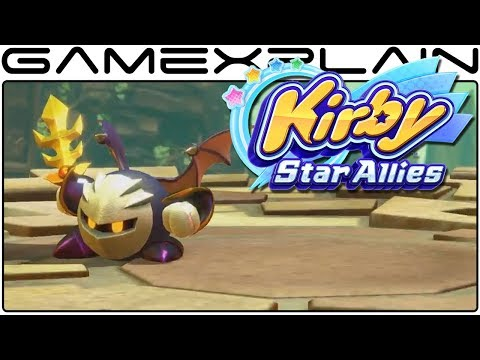 Dueling Meta Knight in Kirby: Star Allies!