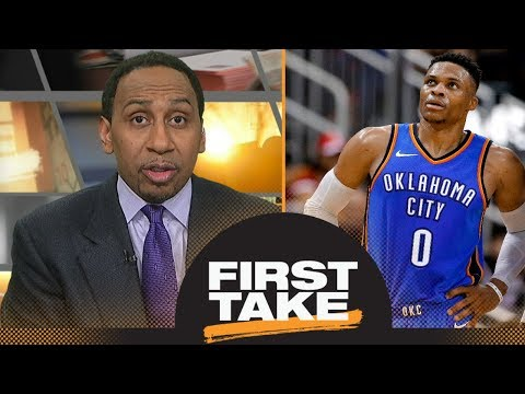 Stephen A.: Russell Westbrook 'should be ticked off'   First Take   ESPN