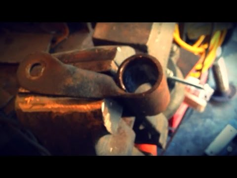 How To Remove a Shackle Bushing Without a Torch!!