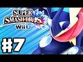Download Video Download Super Smash Bros. Wii U - Gameplay Walkthrough Part 7 - Greninja! (Nintendo Wii U Gameplay) 3GP MP4 FLV
