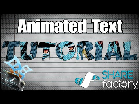 Animated Text Tutorial Great for Intros!!
