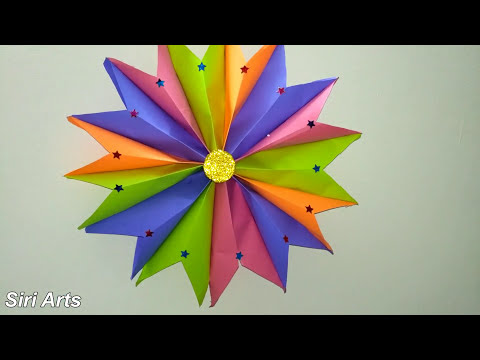DIY Star :Christmas star with paper||How to make a Christmas star at home||how to make easy stars
