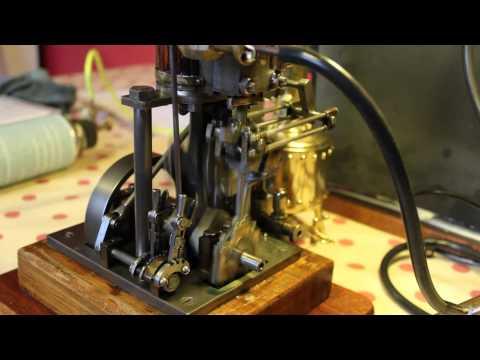 large model marine steam engine