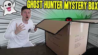 OPENING A GHOST HUNTER MYSTERY BOX (WE FOUND SOME HAUNTED ITEMS!!)