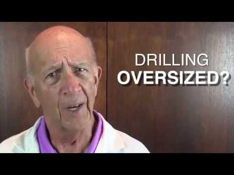 Drilling Oversize? Let's Find Out Why.