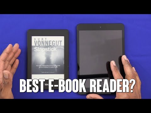 iPad mini vs. Kindle Paperwhite