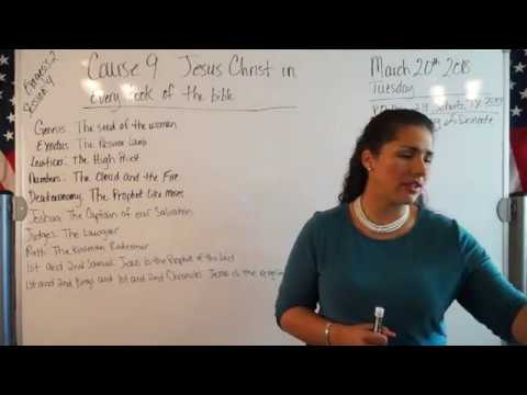 EMOAF S.O.M Back To Basics | Theology Exegesis Two: Course 9: Christ in every book of the Bible: ...