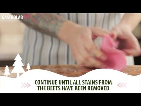 How to Remove Beet Stains From a Cutting Board