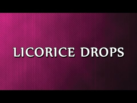 Licorice Drops | RECIPES | EASY TO LEARN