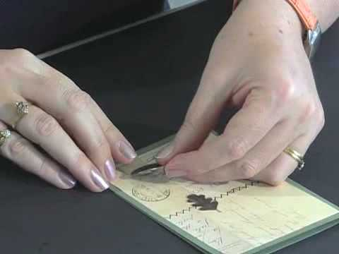 Scrapbook.TV - How to Adhere Metal Embellishments