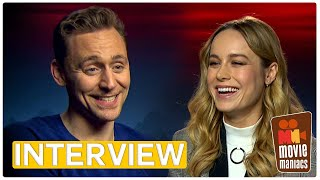 Kong | Which food would the cast crave on Skull Island? Interview Tom Hiddleston & Brie Larson
