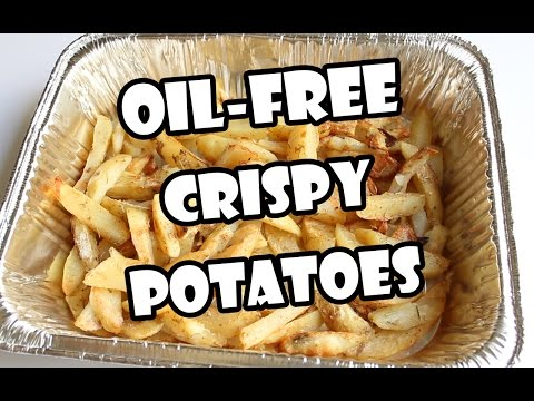 [HOW TO] OIL-FREE CRISPY BAKED FRIES ❤
