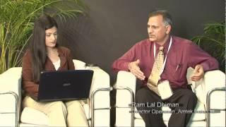Ram Lal Dhiman, Director Operation, Amtek India Ltd.