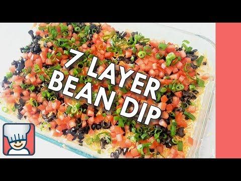 How to make a 7 layer bean dip