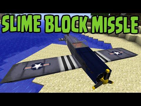 Minecraft PS3, PS4, Xbox, Wii U - SLIME BLOCK MISSLE BOMB PLANE (TU31 / 1.8 Update)
