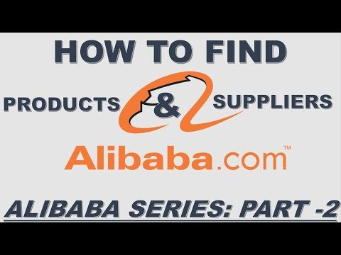 ALIBABA: HOW TO SEARCH PRODUCTS, SUPPLIERS AND RAISE RFQ IN ALIBABA