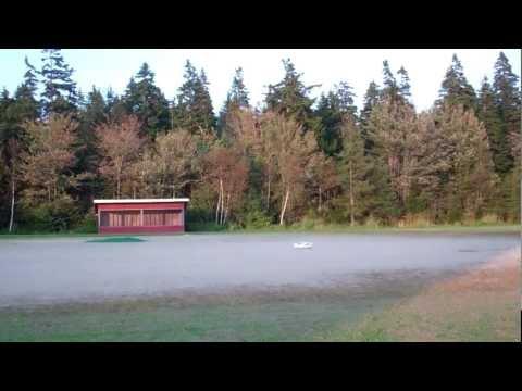 HobbyZone Super Cub DSM LP Wind Flight