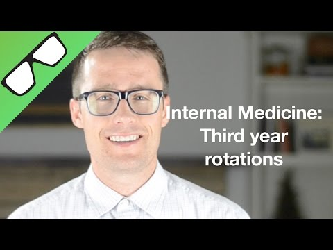 Internal Medicine: Third year rotations