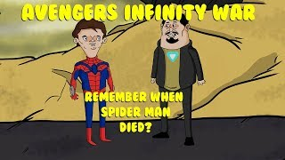 AVENGERS INFINITY WAR: REMEMBER WHEN SPIDER MAN DIED??